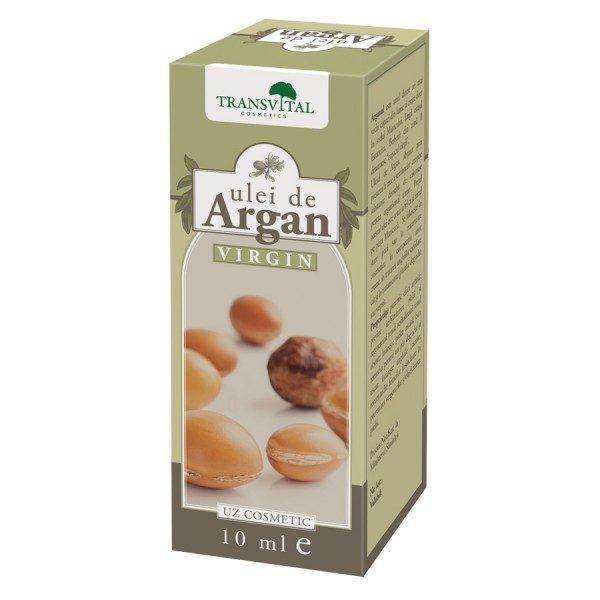 Ulei de Argan Virgin 10 ml • revitalizează tenul obosit, hrănește pielea