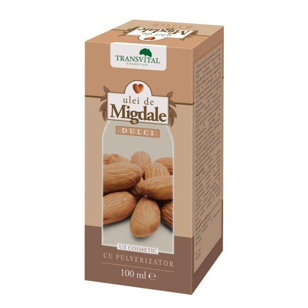 Ulei de Migdale Dulci 100 ml • bun fortifiant pentru păr degradat și uscat