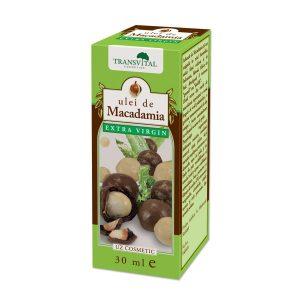 Ulei de Macadamia - normalizează tonusul pielii, emolient natural
