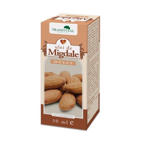 Ulei de Migdale Dulci 30 ml • bun fortifiant pentru păr degradat și uscat