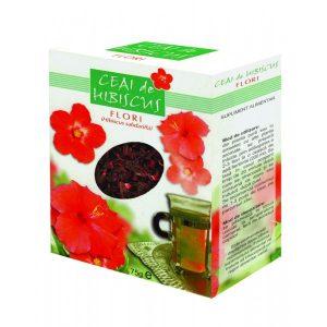 Ceai Hibiscus - conținutul foarte ridicat de flavonoide și vitamina C