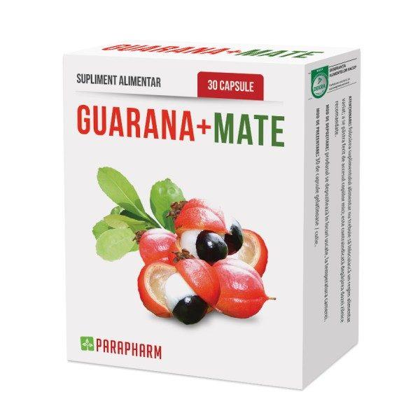 Guarana și Mate pentru creșterea vitalității si alungarea oboselii