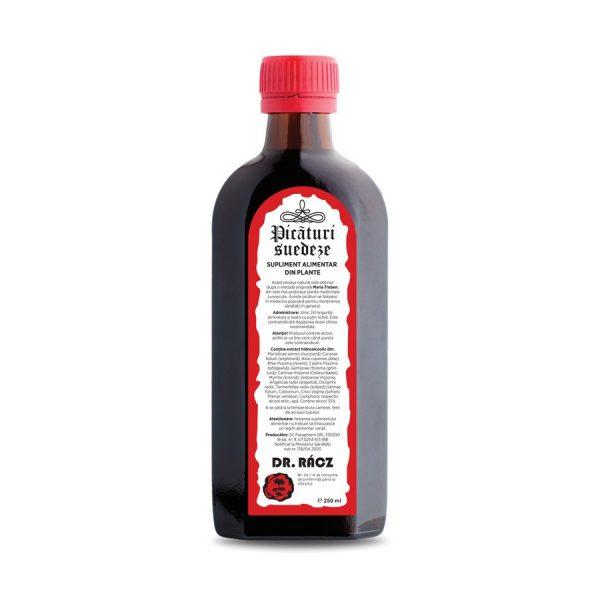 Picaturi suedeze 250 ml - tonic general, menținerea vitalității și sănătății