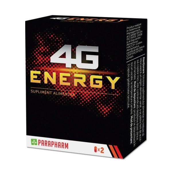 4G Energy destinat în principal sportivilor și celor care depun un efort fizic