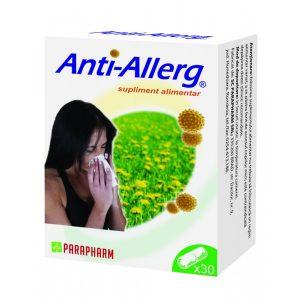 Antiallerg reduce simptomele provocate de polen, praf, spori de fungi