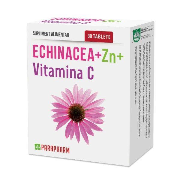 Echinacea Zinc Vitamina C - destinat întăririi sistemului imunitar