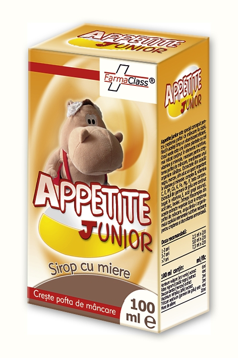 Appetite Junior Sirop - Creșterea Poftei de Mâncare