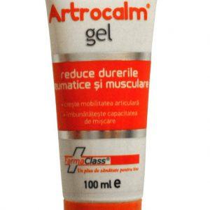 Artrocalm gel - reduce durerile reumatice și musculare, reface cartilajul