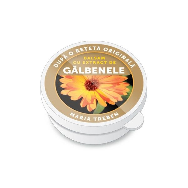Balsam cu extract de Gălbenele 30 ml - efectele benefice asupra pielii