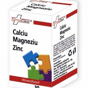 Calciu & Magneziu & Zinc - menţinerea sănătăţii pielii, părului, unghiilor