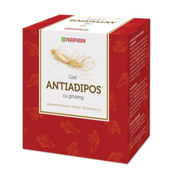 Ceai Antiadipos cu Ginseng contribuie la menținerea greutății normale