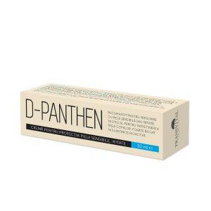 D-Panthen este destinat întreținerii pielii iritate; hrănește și calmează