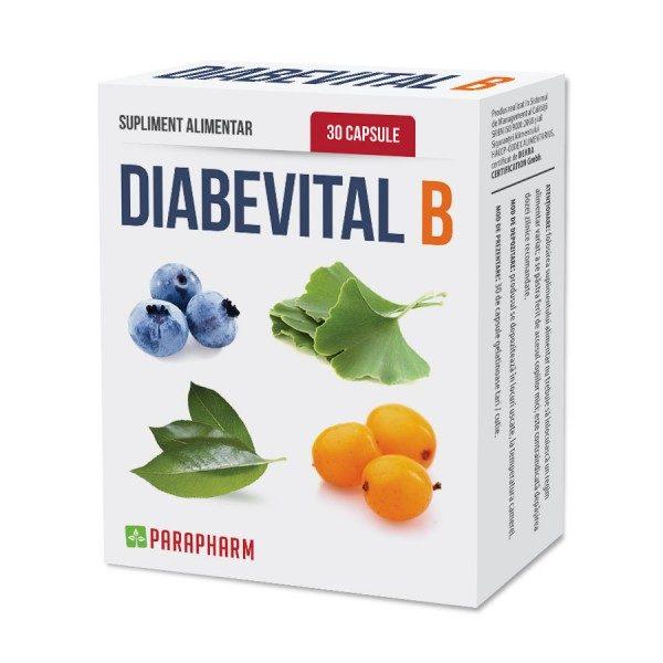 Diabevital B este recomandat în special persoanelor care suferă de diabet
