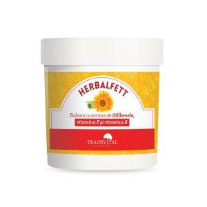 Herbalfett - Balsam cu extract de Gălbenele, vitamina E și vitamina A