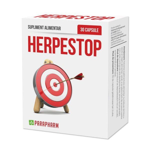 Herpestop pentru eliminarea simptomelor cauzate de virusul Herpes