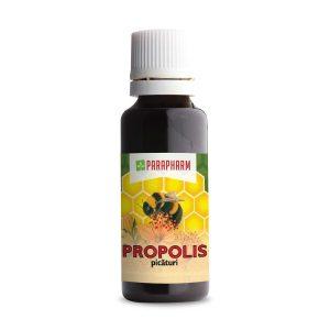 Propolis picături 30 ml - stimulează sistemul imunitar, antibacterian
