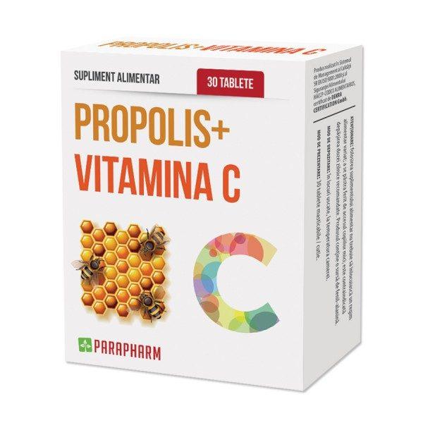 Propolis Vitamina C • stimulează sistemul imunitar