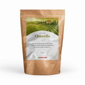 Pulbere din Chlorella: foarte bogată în clorofilă și nutrienți