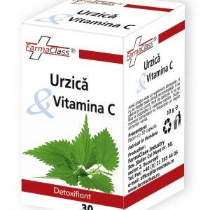 Urzica & Vitamina C - detoxifiant, adjuvant în anemie, litiază renală