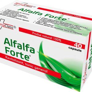 Alfalfa Forte-Revitalizant, tonic general, adjuvant afectiuni cardiovasculare