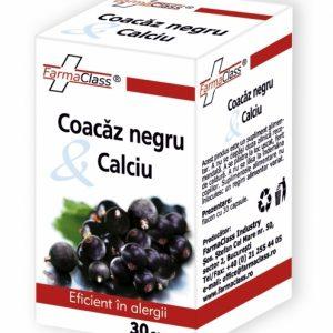Coacaz negru & Calciu - ameliorarea alergiilor şi reducerea inflamaţiei