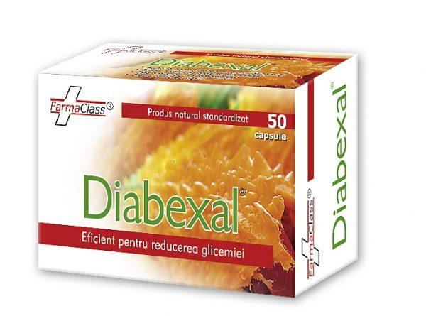 Diabexal - adjuvant în diabetul tip II (insulino-independent)