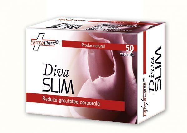 Diva Slim este formula concepută pentru obţinerea unei siluete ideale