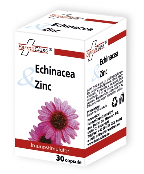 Echinacea & Zinc Determină Creşterea Capacităţii de Apărare a Organismului
