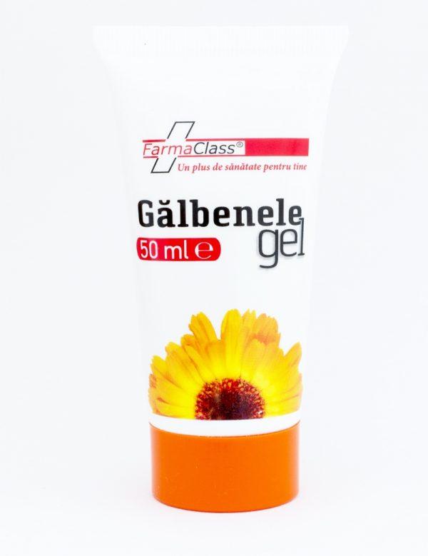 Galbenele gel are acţiune epitelizantă, regenerantă, cicatrizantă, emolientă