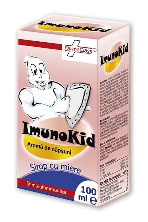 ImunoKid Creste Imunitatea Copiilor