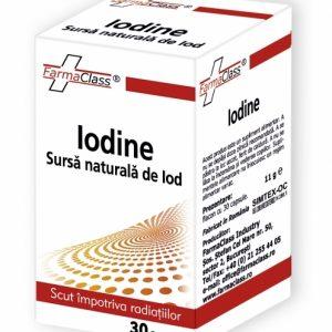 Iodine aduce un aport important de iod, remediu bun pentru obezitate