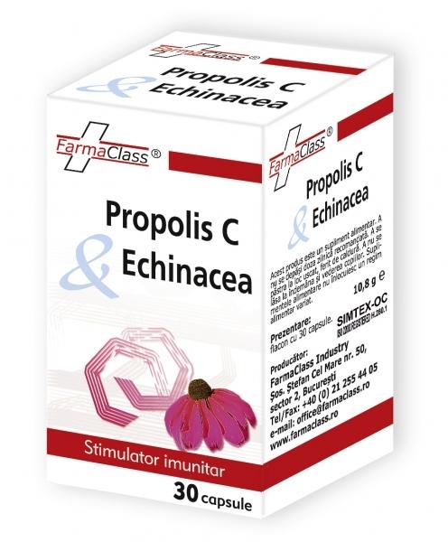 Propolis C & Echinacea - excelent agent de crestere a imunitatii