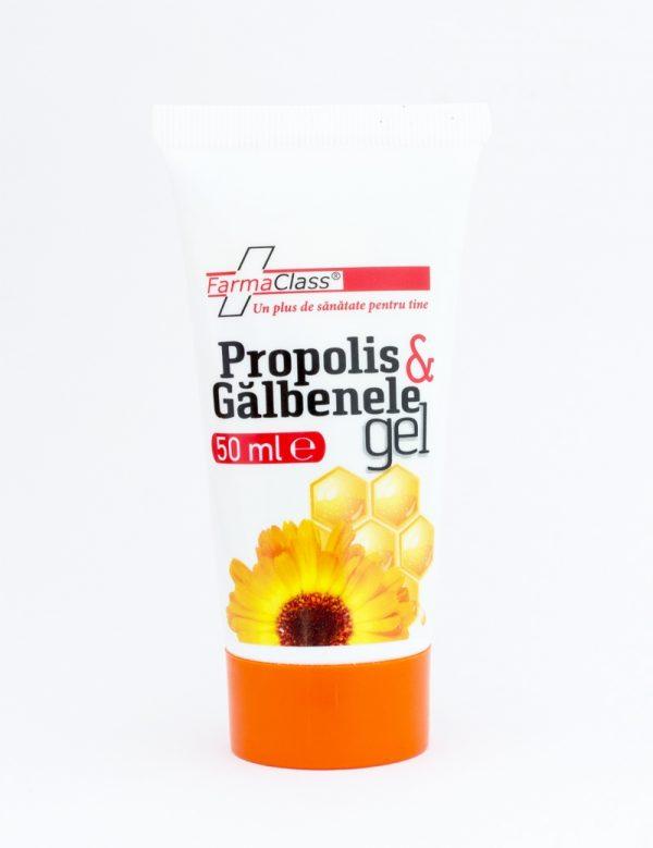 Propolis & Gălbenele Gel - antiseptic, antiinflamator, cicatrizant, emolient
