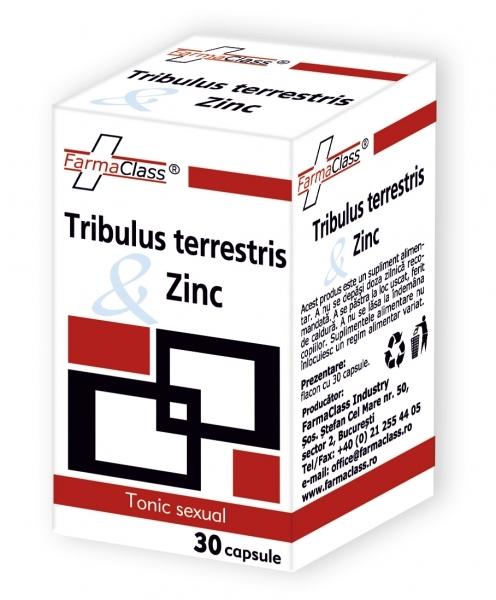 Tribulus terrestris cu Zinc - creşterea potenţei şi performanţelor sexuale