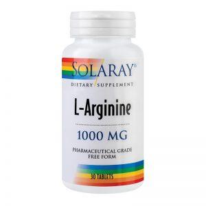 L-Arginine 1000 mg 30 tablete - este detoxifiant si protector hepatic