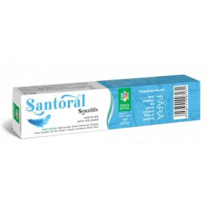 SANTORAL SENZITIV PASTA DE DINTI 75 ML - igiena dentara naturala