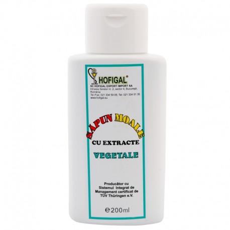 Sapun Vegetal Lichid fl. 200 ml - Spălarea Părului, precum și a Corpului