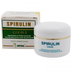 SPIRULIN crema - asigura protectie pentru intreaga zi