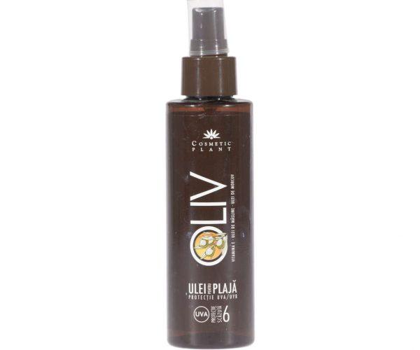 Ulei plajă OLIV SPF 6 cu ulei de morcov ulei de măsline şi vitamina E