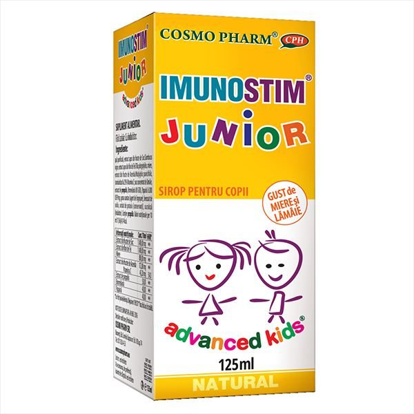 Sirop Imunostim Junior Advanced Kids 125 ml