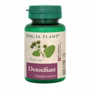 Detoxifiant 60 comprimate Dacia Plant - eliminarea substantelor nocive