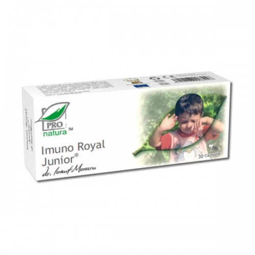 Imuno Royal Junior 30 capsule Pro Natura - are proprietati antivirale