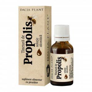 Tinctura De Propolis 20 ml DACIA PLANT - Antimicrobiană, antimicotică