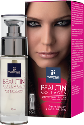 Complex de Collagen Ser pentru Ten si Ochi Beautin Myelements 30ml