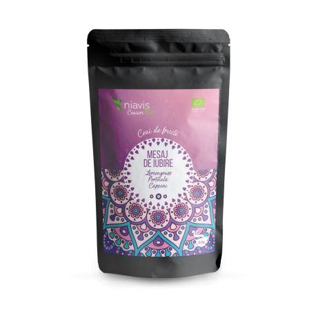 Ceai Mesaj de Iubire Ecologic Bio 50g NIAVIS - aroma de: grapefruit