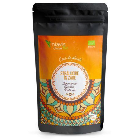 Ceai Stralucire in Zare Ecologic Bio 50g NIAVIS - aroma de lemongrass
