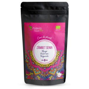 Ceai Zambet Senin Ecologic Bio 50g NIAVIS - aroma de mango