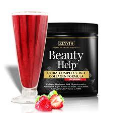 Beauty Help Strawberry 300g ZENYTH PHARMA - îngrijirea pielii