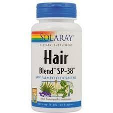 Hair Blend 100 capsule vegetale Secom - reducerea caderii parului