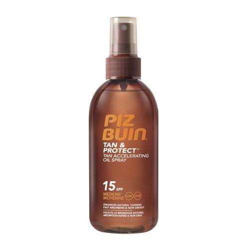 Spray Protectie Solara Piz Buin Wet Skin 150ml cu SPF 15 - hidrateaza